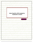 Asia Pacific ATM Industry Outlook to 2015