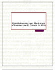 Finnish Foodservice: The Future of Foodservice in Finland to 2016