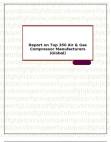 Report on Top 350 Air & Gas Compressor Manufacturers (Global)