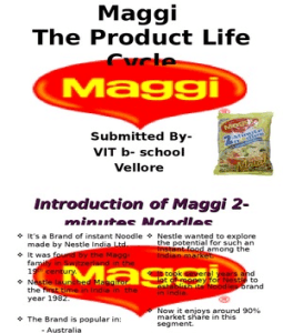 graphs of product life cycle of maggi Tweetscoopit tweetscoopitthis free product life cycle powerpoint template is a ppt slide design with a product life cycle curve ready to be used in your powerpoint presentations to describe a business or product life cycle with an example or make a presentation on new product development stages.