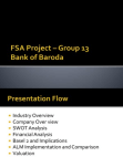 Analysis on Bank of Baroda