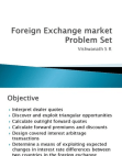 Foreign Exchange market Problem Set