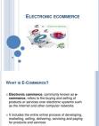 Technical Aspects of E-Commerce