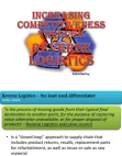 Competitiveness through Reverse Logistics