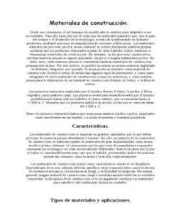 Clasificacion de los materiales de construccion for Marmol clasificacion
