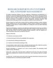 Study on Customer Relationship Management