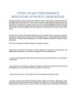 Research Study on Key Performance Indicators of Supply Chain Retail