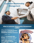 PPT Presentation on Customer Relationship Management