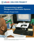 Study on Computerizing Logistics Management