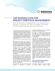 White Paper on Project Portfolio Management