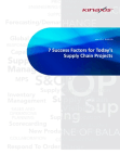 White Paper for Supply Chain Projects