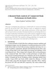 Case Studies on financial Ratio Analysis of Commercial Bank: South Africa