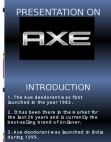 Presentation on AXE