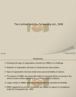 Introduction to Limited Liability Partnership