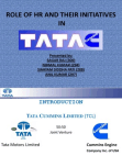HR Roles in Tatacummins