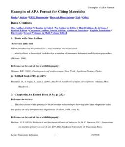 format book essay