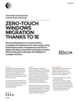 Zero-Touch Windows Migration thanks to 1E