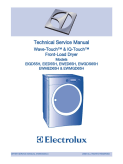 Electrolux Wave-Touch & IQ-Touch Front-Load Dryer