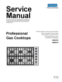 Viking SMC-0002 Professional Cooktop Service Manual