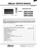 Dacor DMT2420 Microwave Oven