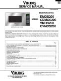 Viking Microwave Oven CNNYV5YK