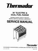 Thermador RDF REF 30 inch Dual Fuel