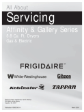 Frigidaire 2009 Affinity Dryer Service Manual