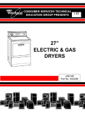 Whirlpool 27 inch Electric & Gas Dryers