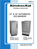 KitchenAid 15 & 18 inch Automatic Ice Makers KAR-14