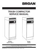 Broan Trash Compactors 2