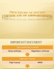 procedure of issuing certificate of airworthiness