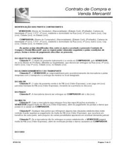 Contrato Mercantil Scribd Autos Weblog