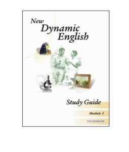 dyned module review - restores user's dynedini file for each course if the ipad version is  - nde module 7 mastery test  new dynamic english  review exercises  speech.