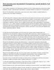 Rola rzecznika praw obywatelskich (kompetencje, sposób działania, tryb powoływania)
