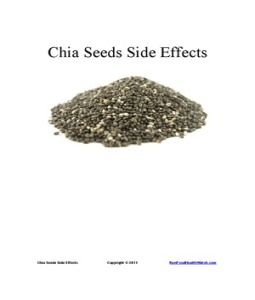 Chia Seeds Side Effects