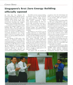 Energy Building Singapore Pictures on Singapore S 1st Zero Energy Building