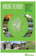 Minding the Money: Governance of climate change adaptation finance in Nepal