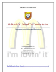 Mc donalds marketing strategies