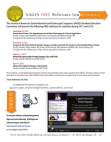 SAGES Free Webinars for Residents 2011-2012
