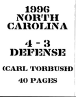 1996 University of North Carolina Defense  40 Pages