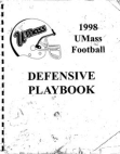 1998 UMASS Defense  132 Pages