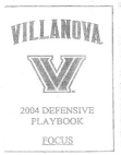2004 Villanova 42 Defense  260 Pages
