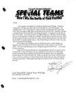 Coach Shackelfords Special Teams  120 Pages