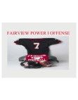 Fairview Power I Offense  38 Slides