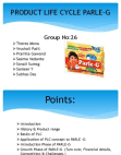 Product Life cycle on Parle -G