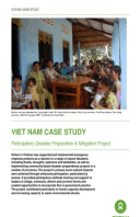 Viet Nam Case Study: Participatory disaster preparation and mitigation project