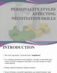 Case Study on Negotiation Skills