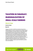 Taxation in Paraguay: Marginalization of small-scale farming