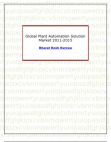 Global Plant Automation Solution Market 2011-2015