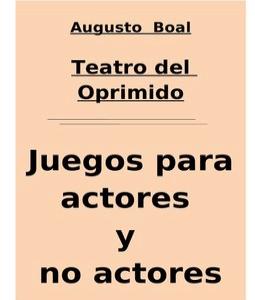 Teatro del oprimido augusto boal